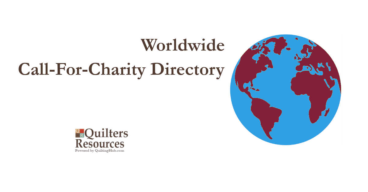 call for charity quilts